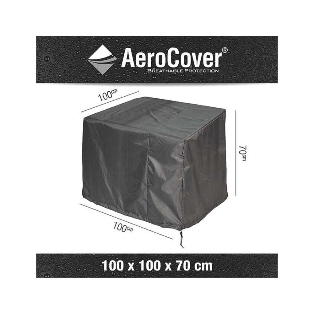 AEROCOVER Atmungsaktive Schutzhülle für Loungesessel 100x100xH70 cm