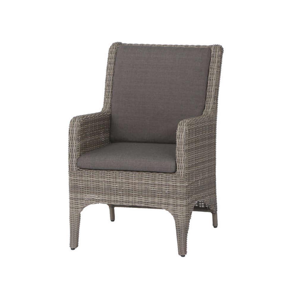 siena garden dining sessel calado taupe grey. Black Bedroom Furniture Sets. Home Design Ideas