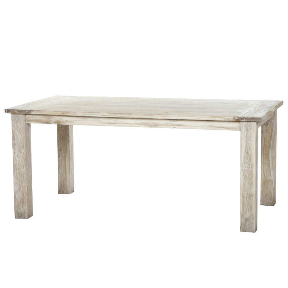 siena garden old teak tisch white washed 180x100 cm. Black Bedroom Furniture Sets. Home Design Ideas