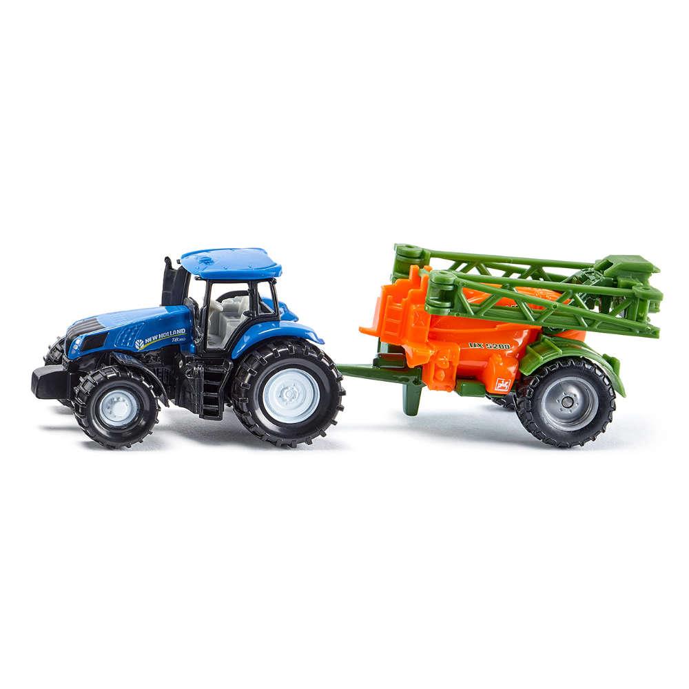 Siku Traktor mit Feldspritze