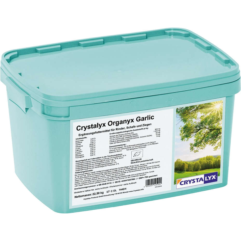CRYSTALYX Organyx Garlic
