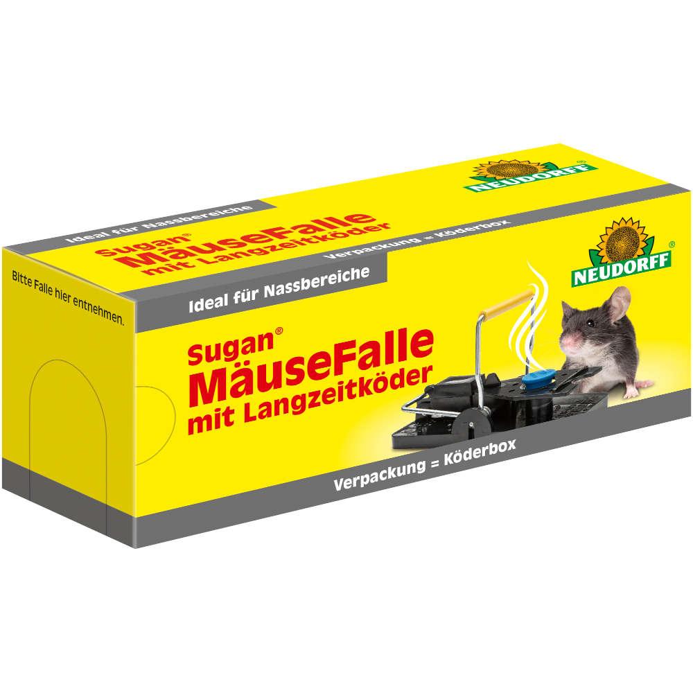 Sugan Mäusefalle mit Langzeitköder - Ratten- und Mäusebekämpfung