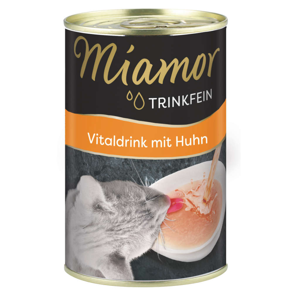 Miamor Trinkfein-Vitaldrink mit Huhn