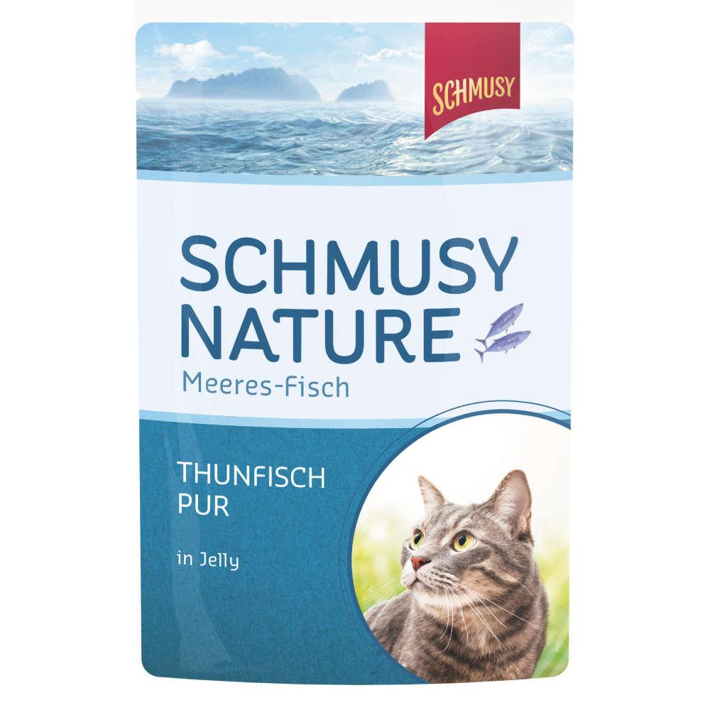 SCHMUSY Nature Meeres-Fisch Thunfisch Pur
