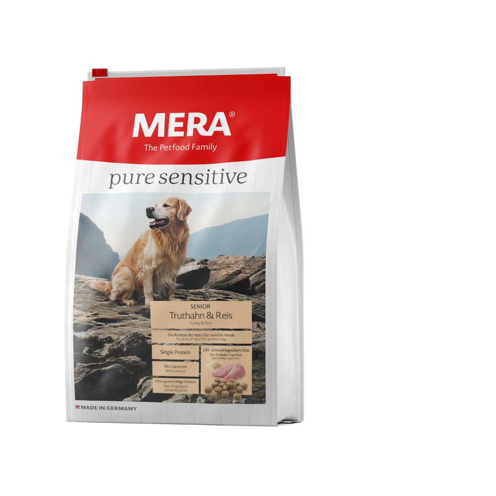 MERA Pure Sensitive Senior Truthahn+Reis