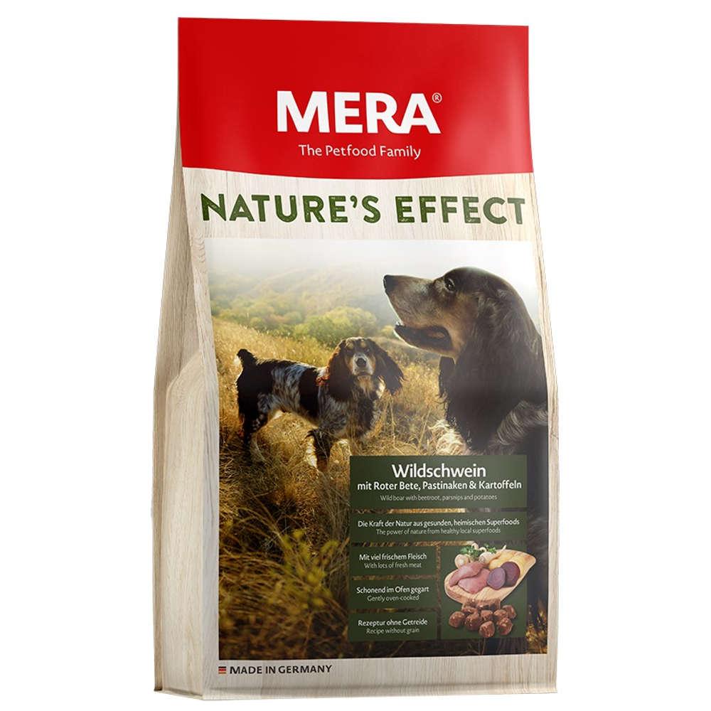 MERA NATURE'S EFFECT Hunde-Trockenfutter Wildschwein