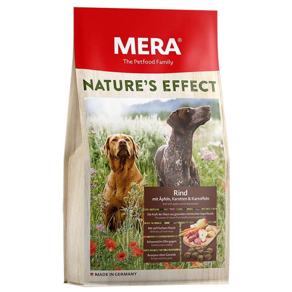 MERA NATURE'S EFFECT Hunde-Trockenfutter Rind