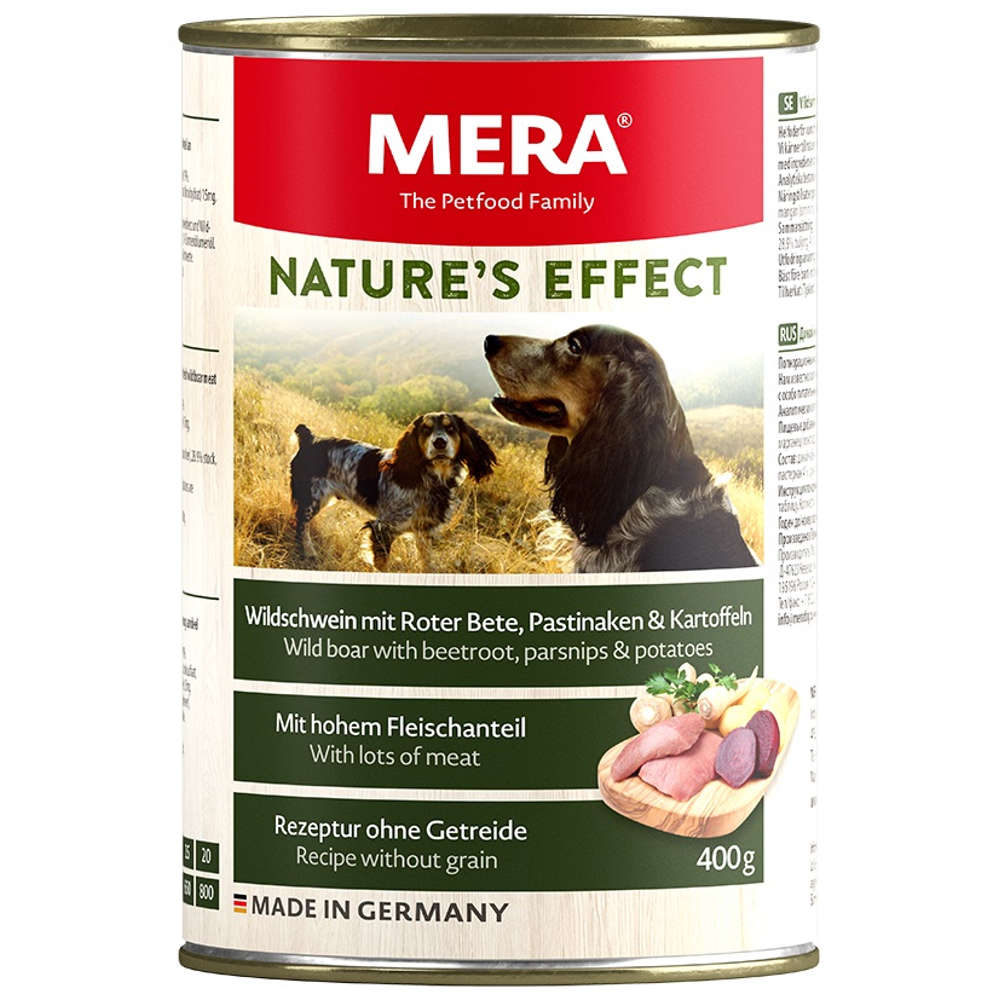MERA NATURE'S EFFECT Nassfutter Wildschwein