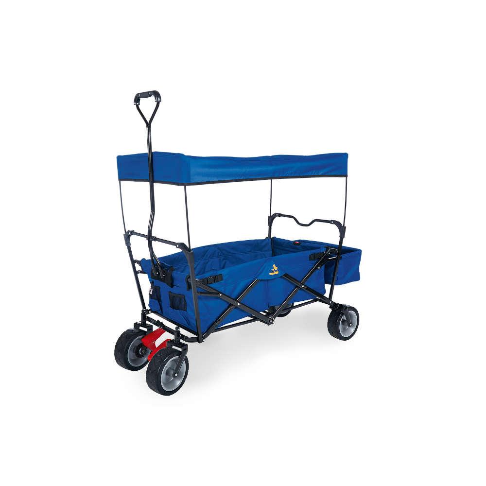 Pinolino Klappbollerwagen Paxi dlx blau