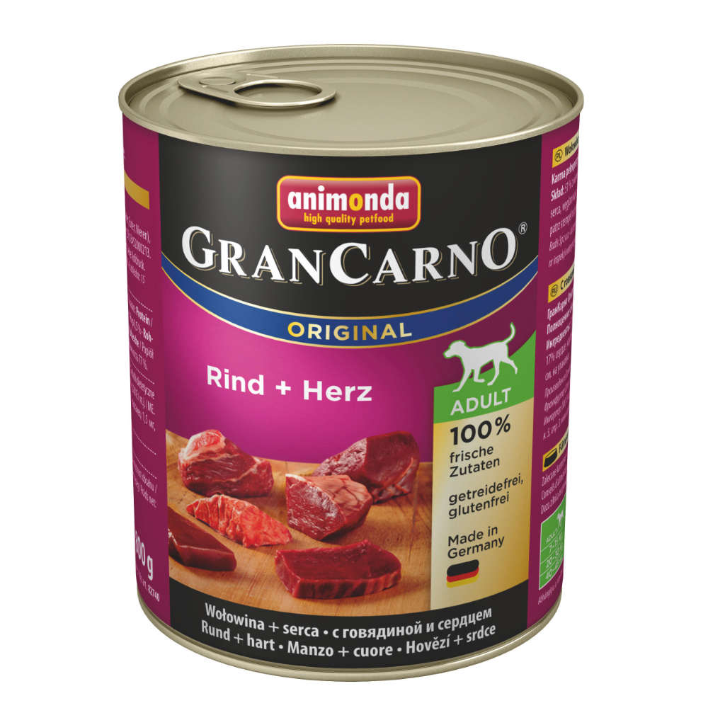 animonda GranCarno org. Adult Rind + Herz
