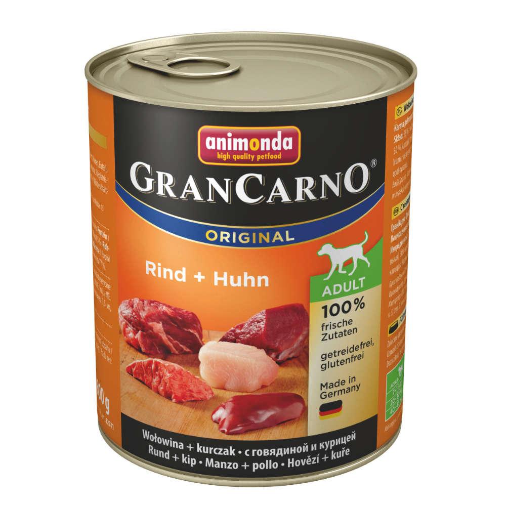 animonda GranCarno org. Adult Rind + Huhn