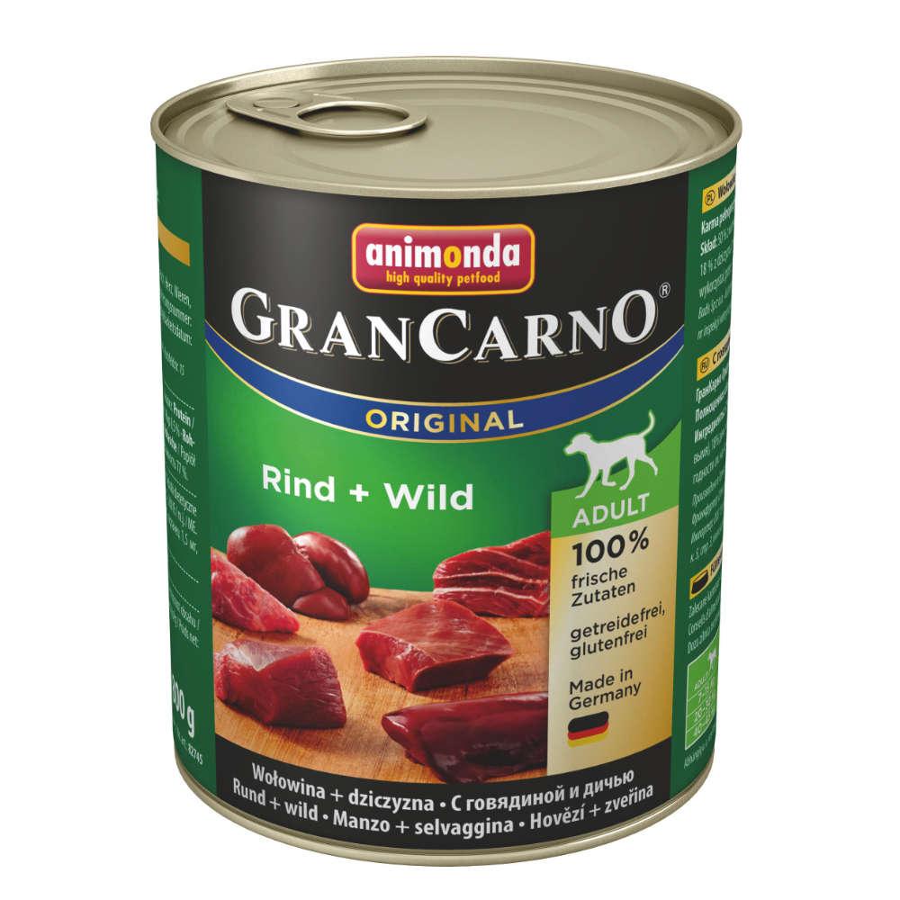 animonda GranCarno org. Adult Rind + Wild