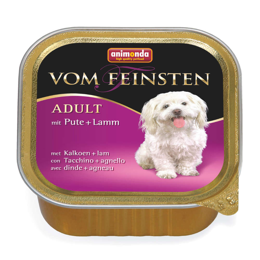 animonda Vom Feinsten Adult Pute + Lamm