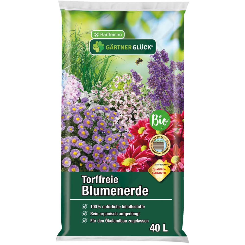 GÄRTNERGLÜCK Torffreie Blumenerde