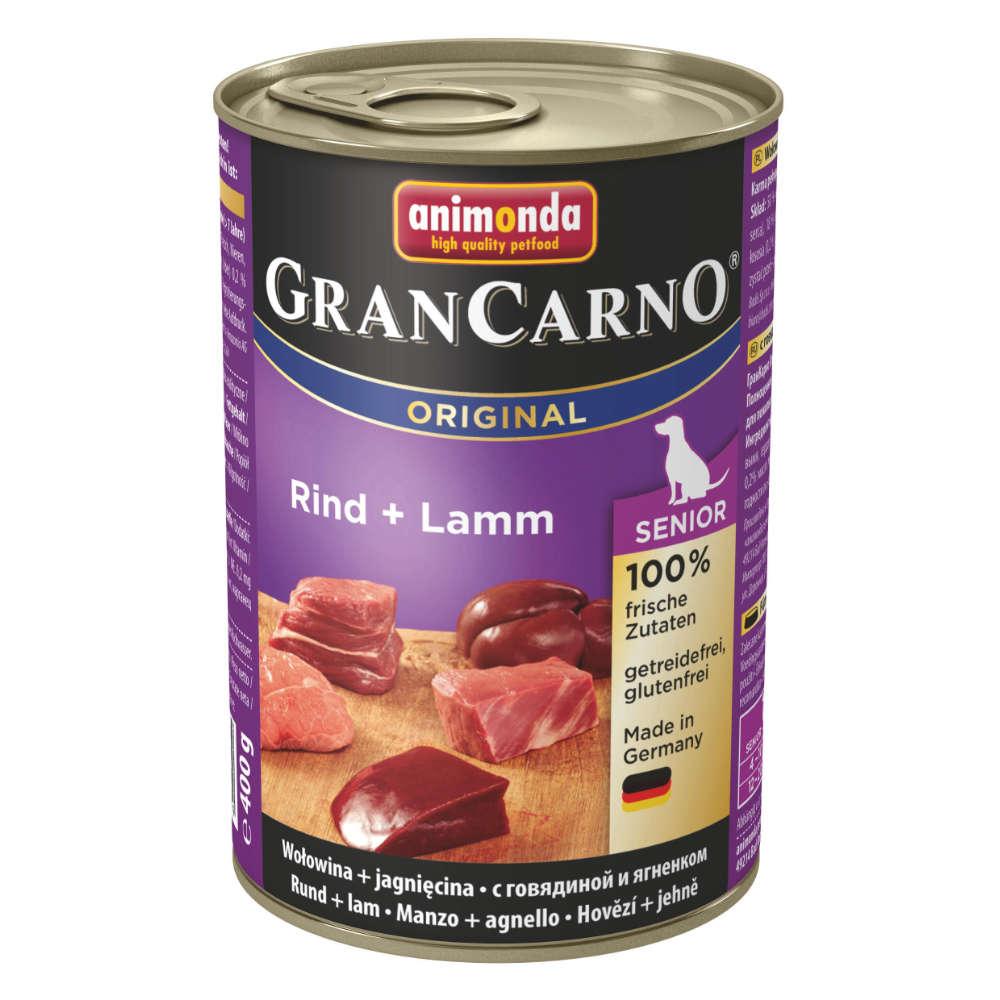 animonda GranCarno org. Adult Rind + Lamm