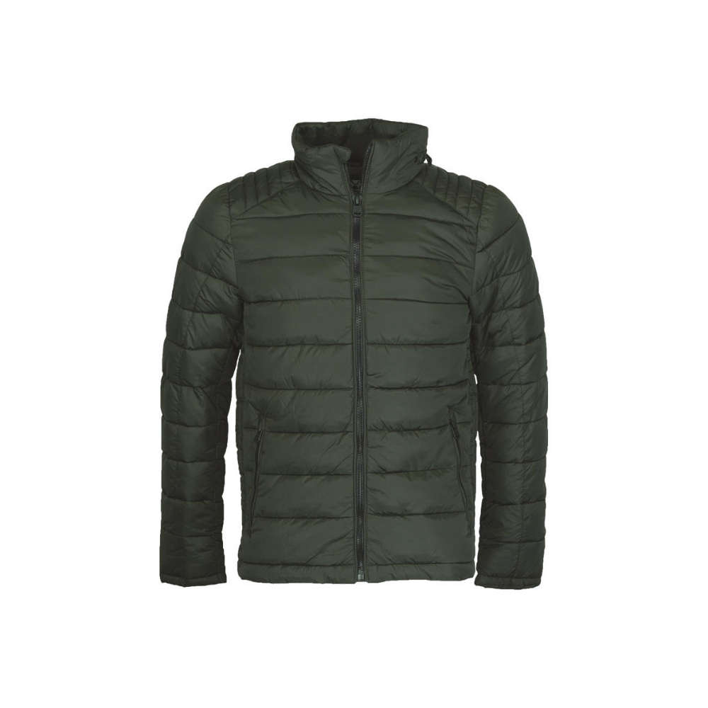 Fashion Connections Herren-Steppjacke, oliv
