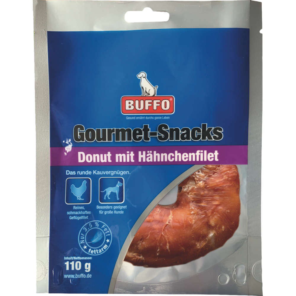 Buffo Gourmet-Snacks Donut