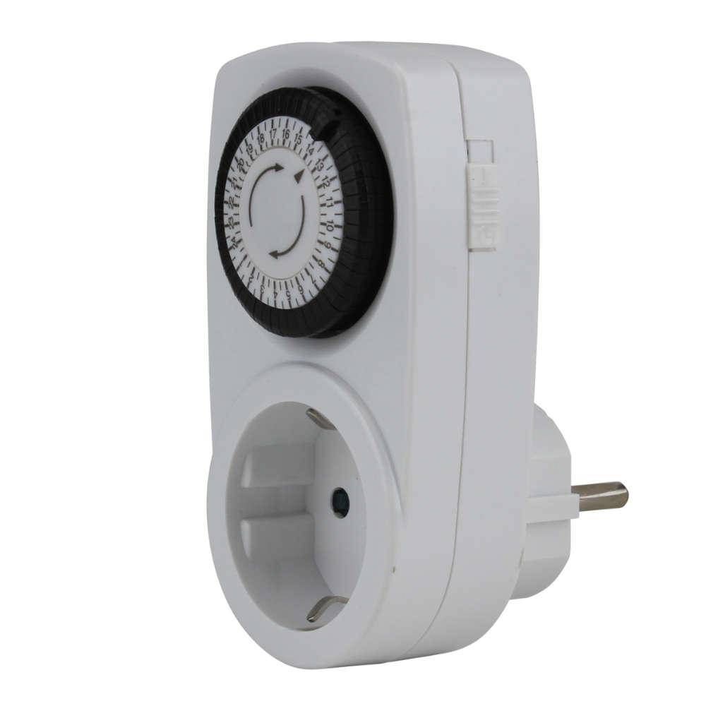 uniTEC Tageszeitschaltuhr mini,analog