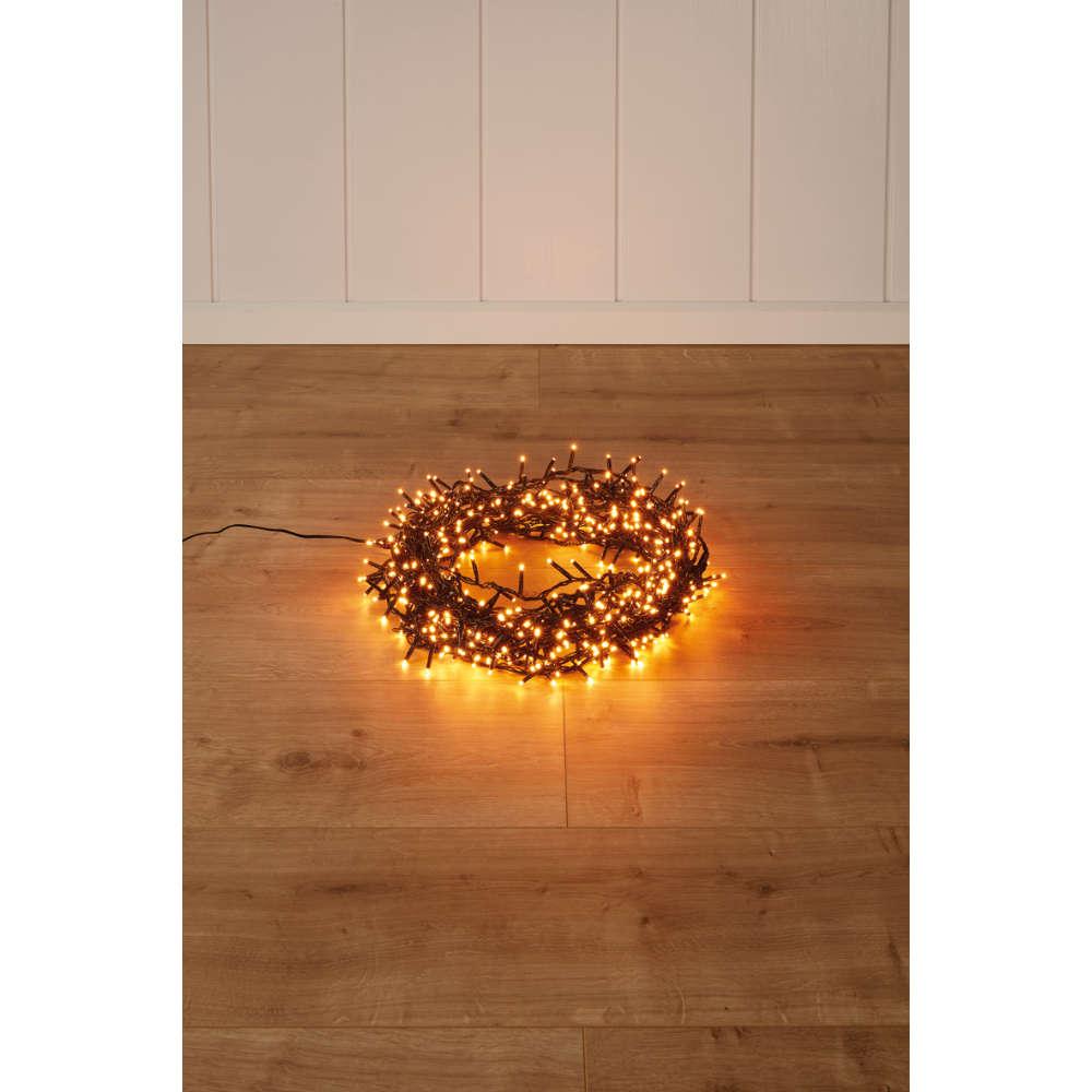Lumineo LED Ricelight schwarz