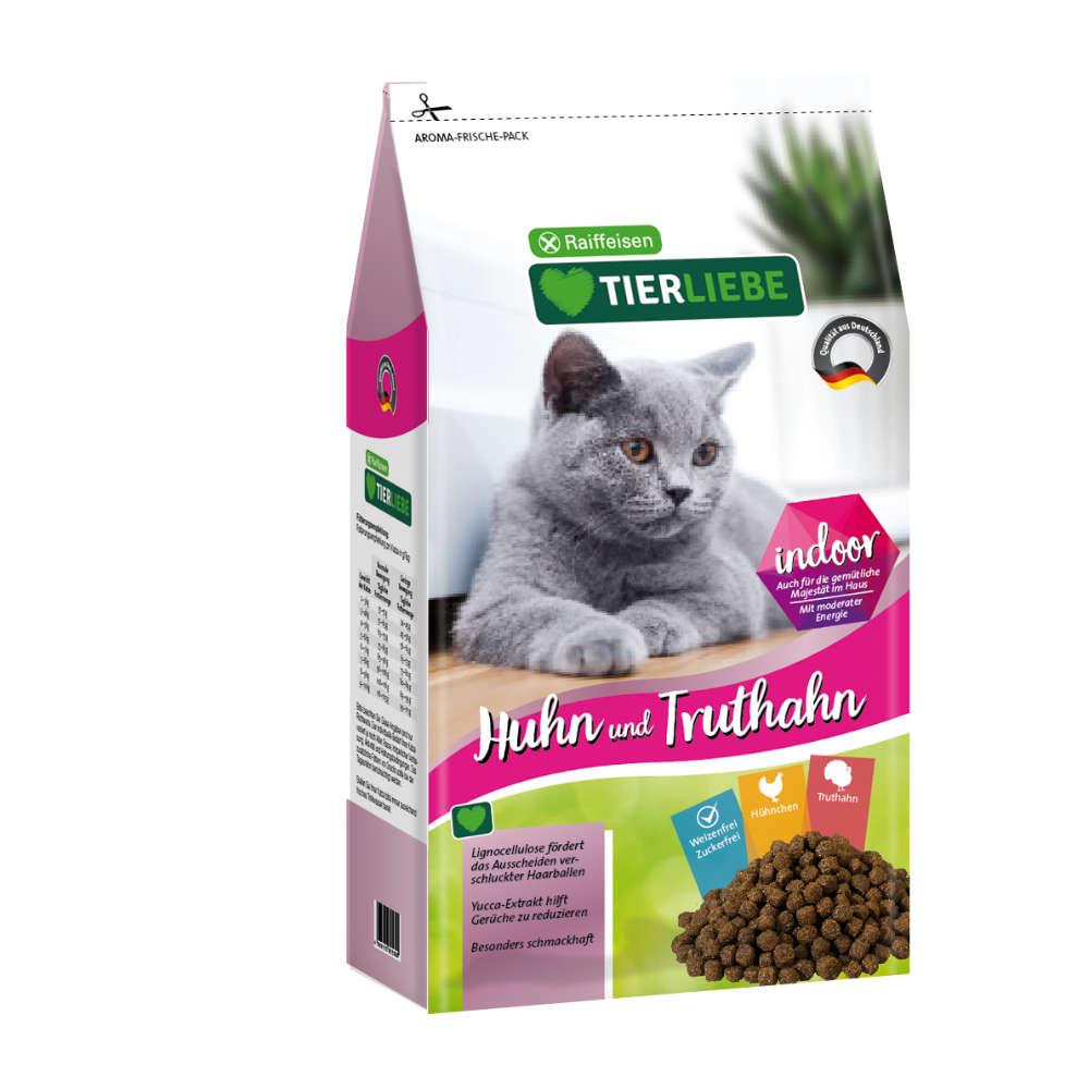 TIERLIEBE Katze Huhn+Truthahn Indoor