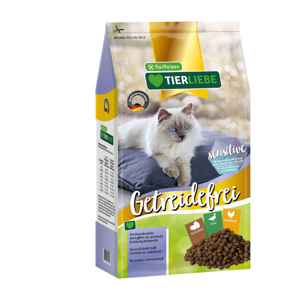 Raiffeisen TIERLIEBE Katze Getreidefrei