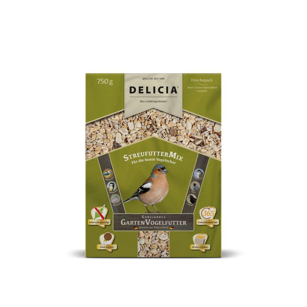 Delicia Garten Vogelfutter Streufutter-mix