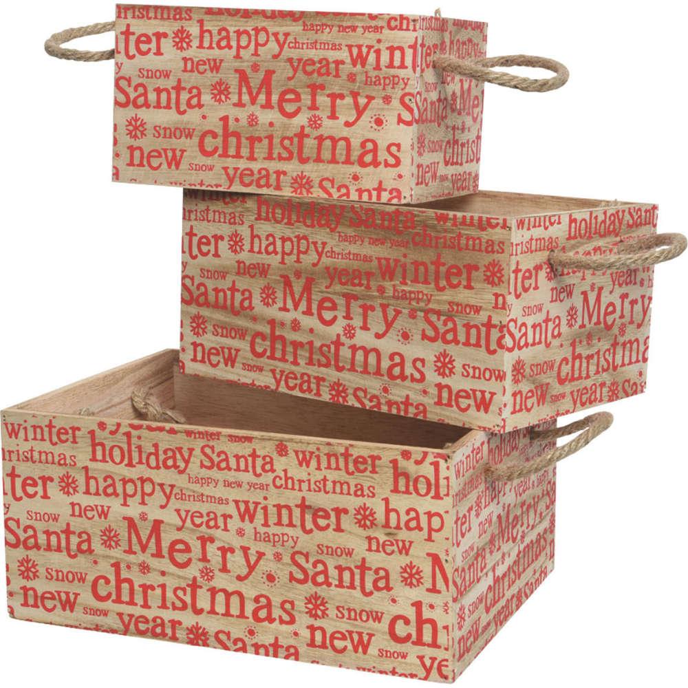 Deko-Boxen Merry Christmas