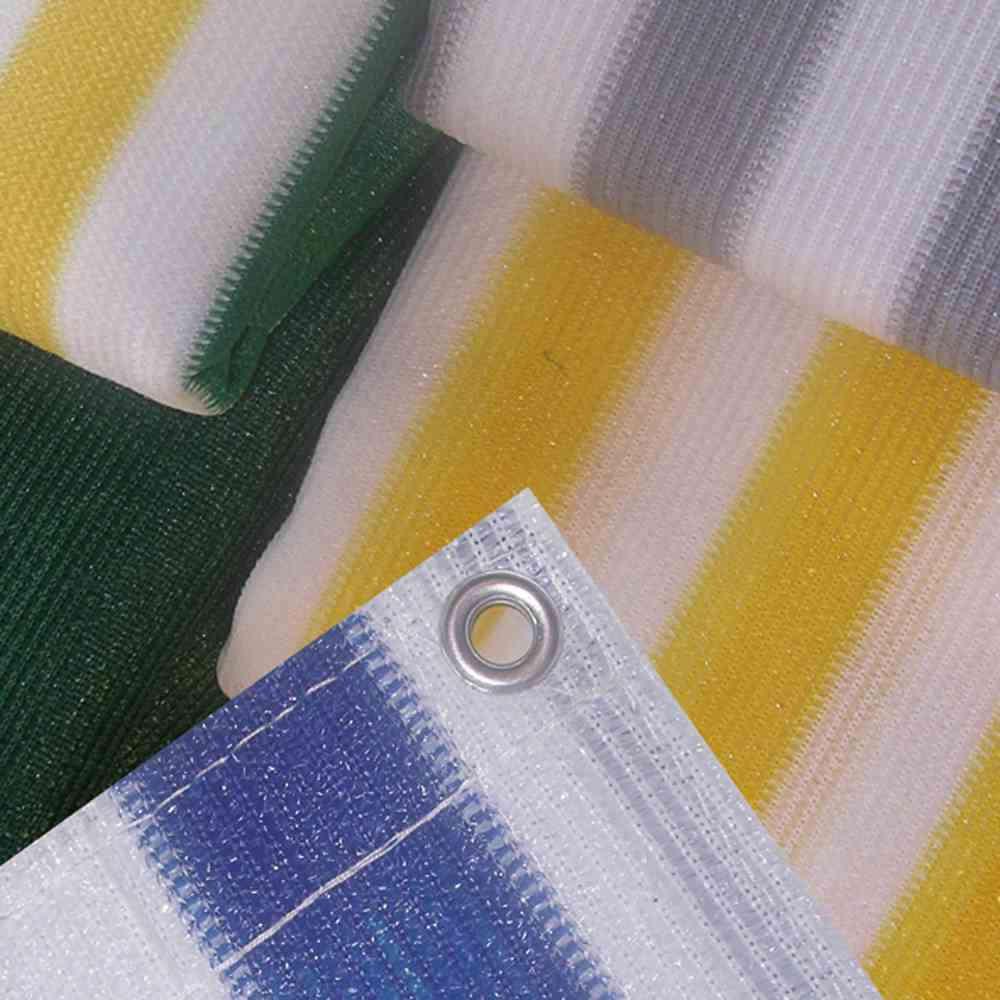 HOWITEC Balkonverkleidung, grau/weiß, 500x90 cm