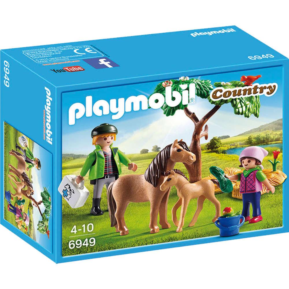Grafik für playmobil Ponymama mit Fohlen in raiffeisenmarkt.de