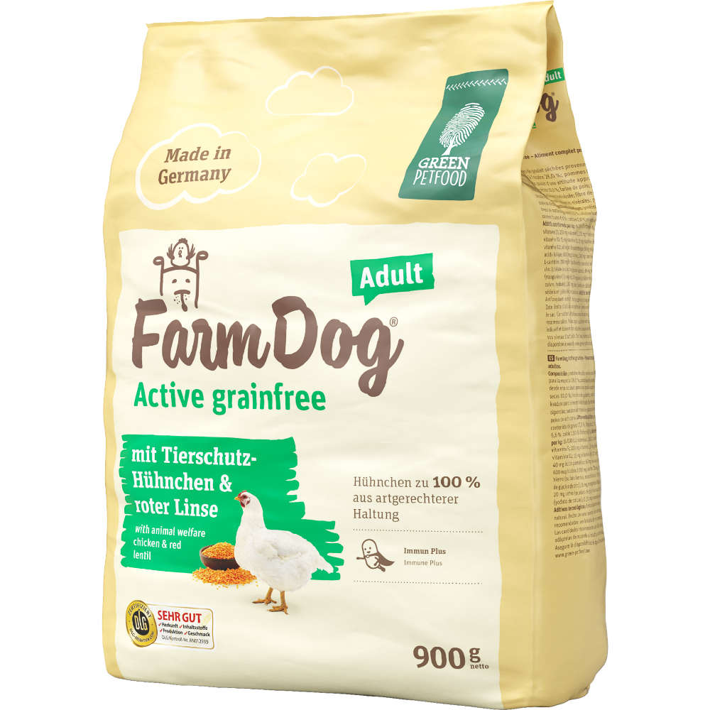 Green Petfood FarmDog Active grainfree