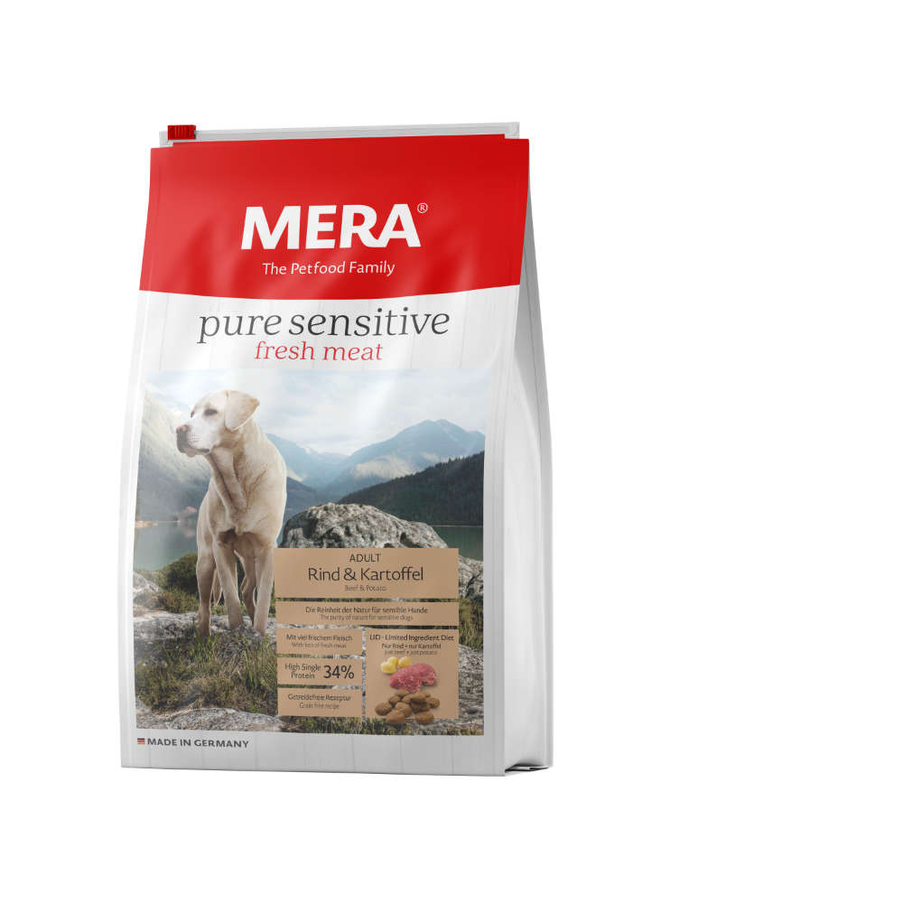 MERA Pure Sensitive fresh meat Rind+Kartoffel
